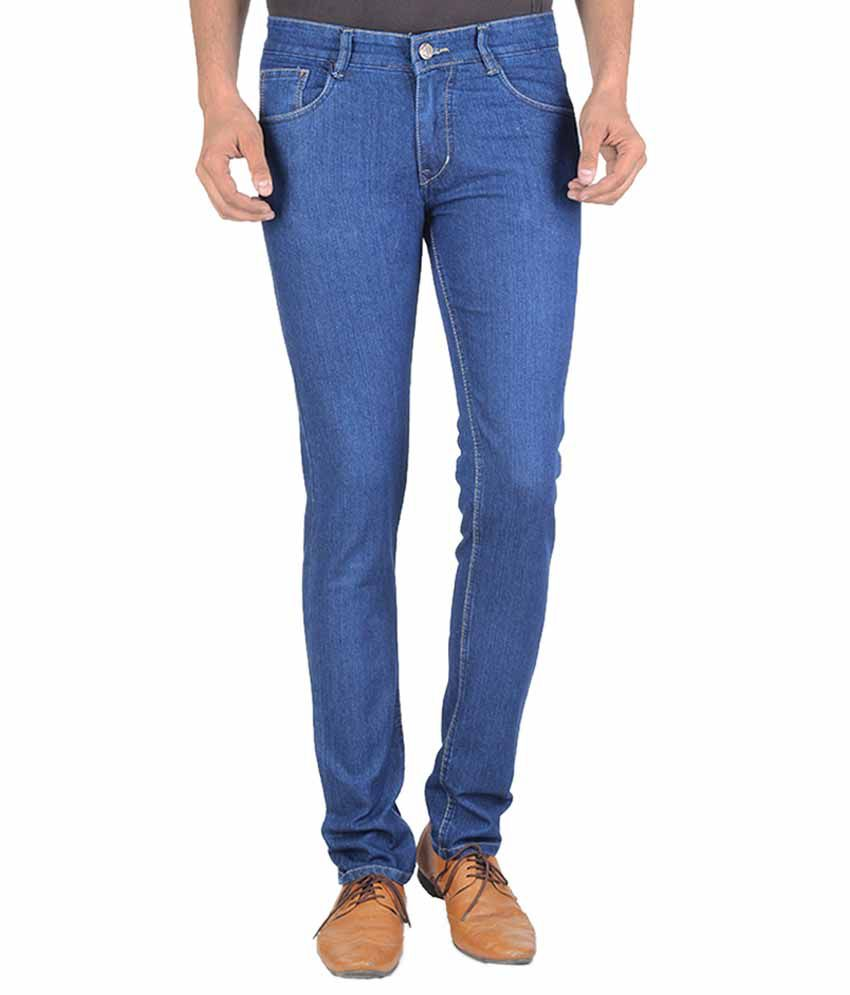 Goodgift Blue Slim Fit Jeans