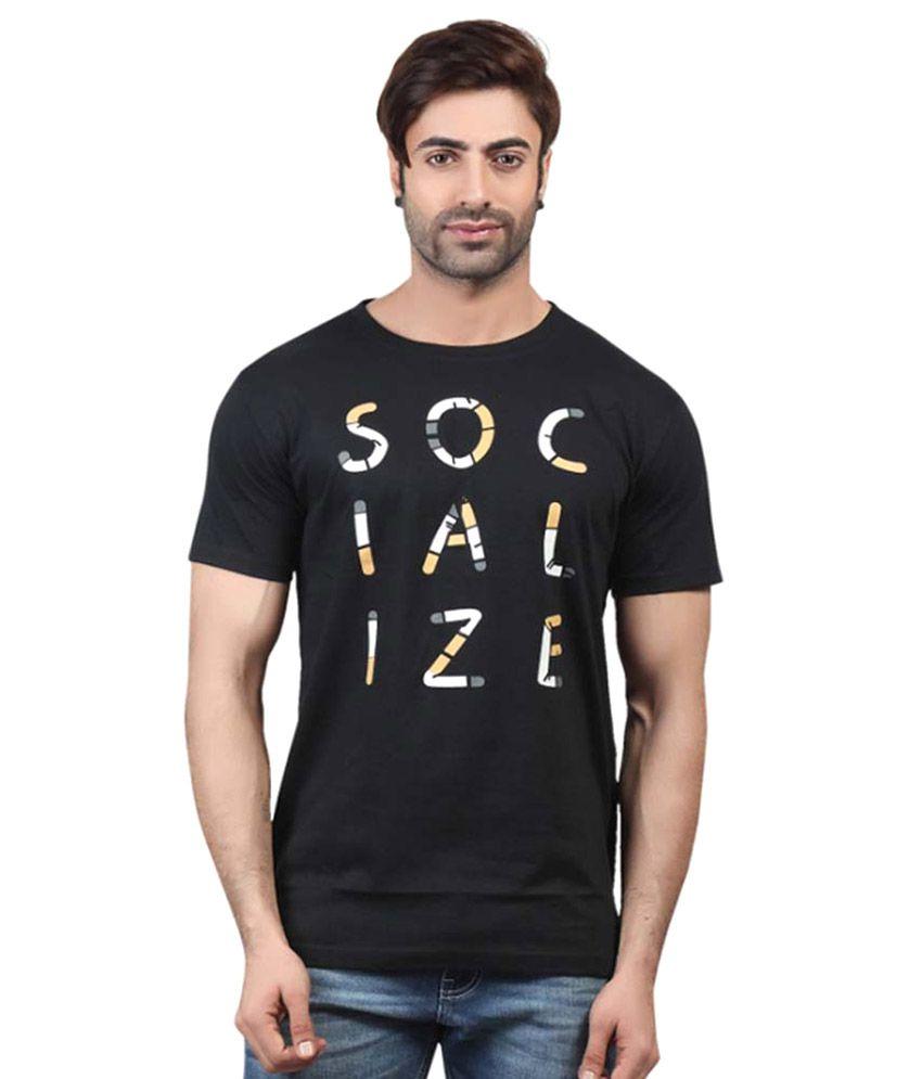 Kkoir Black T-Shirt