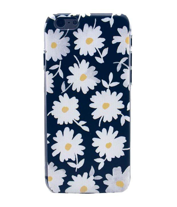 Mobidress Flower Design Mobile Cover For Iphone 6 Plain Back Covers Online At Low Prices