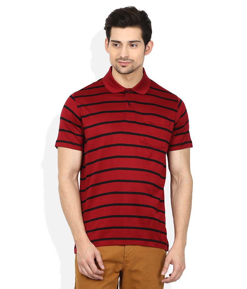 d70e627f308 Proline Red Striped Polo T Shirt - Buy Proline Red Striped Polo T Shirt  Online at Low Price - Snapdeal.com