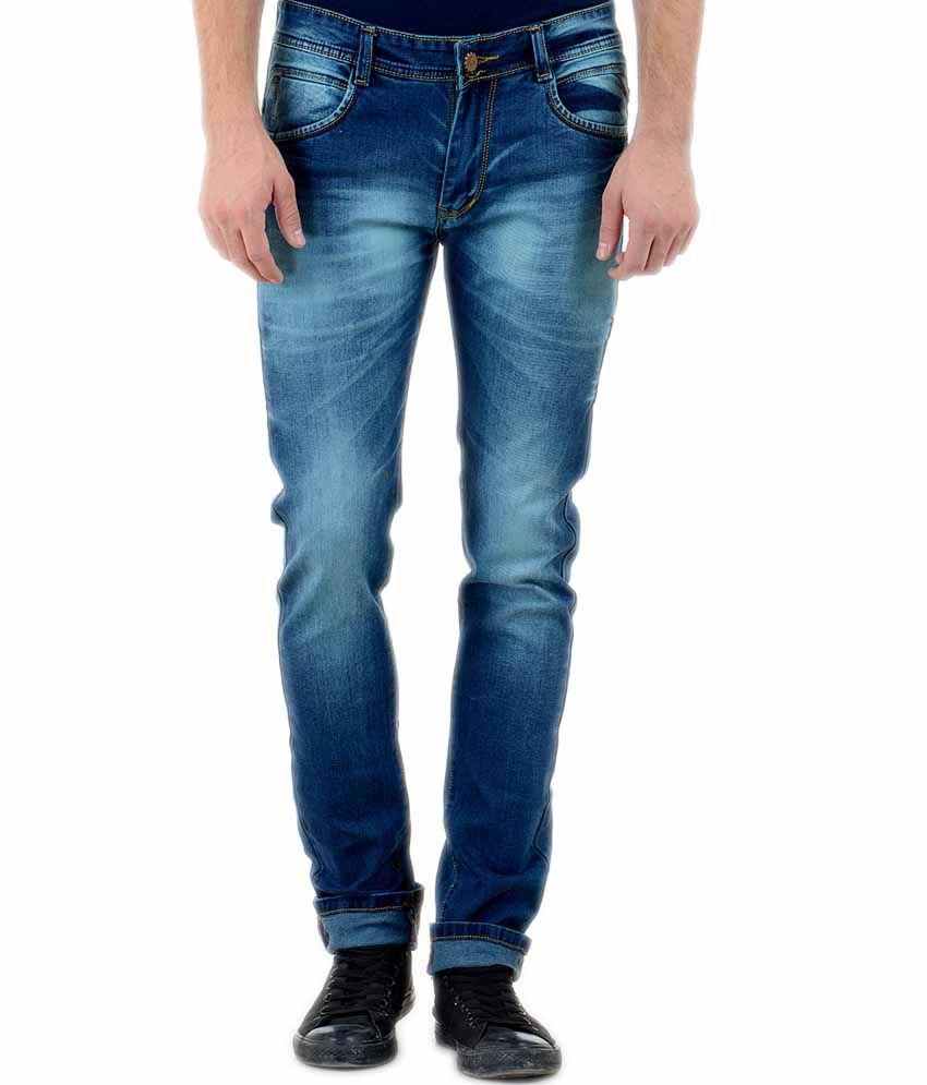 Blue Forest Blue Slim Fit Jeans