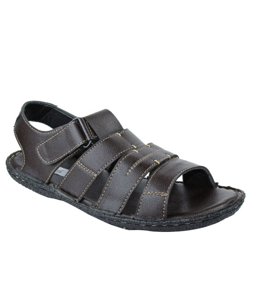 Faith Brown Sandals