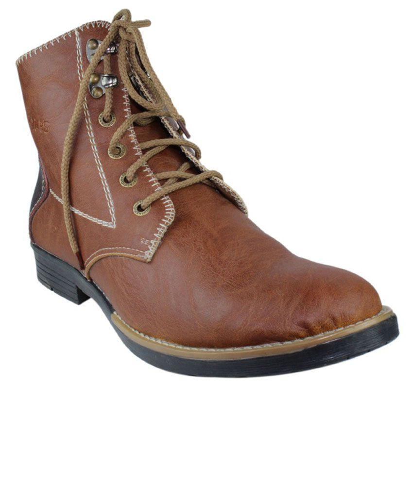 Faith Tan Boots