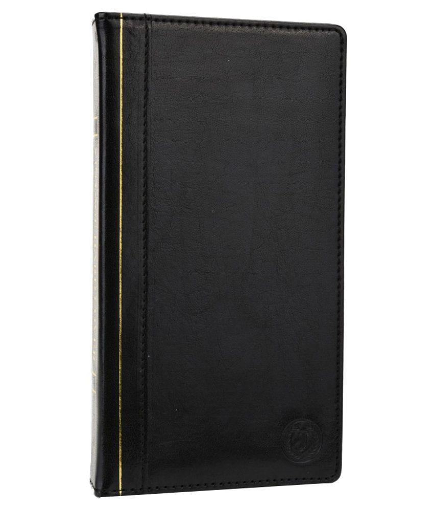 Jo Jo Flip Cover For Lava Mobiles Iris X1 Atom - Black