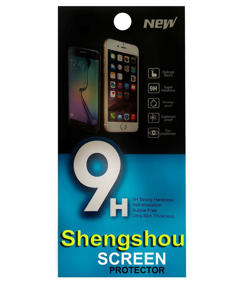 Shengshou Clear Screen Guard For Lava Iris 349 Plus
