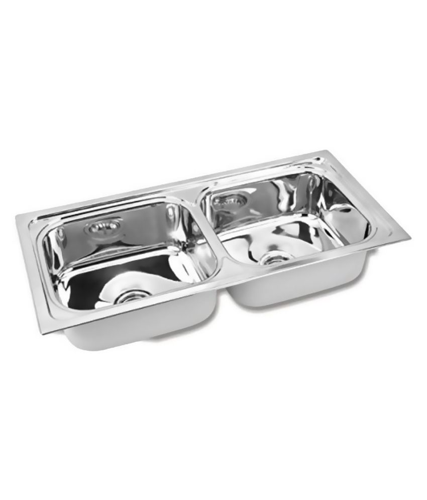 Jindal Silver Double Bowl Sinks Buy Jindal