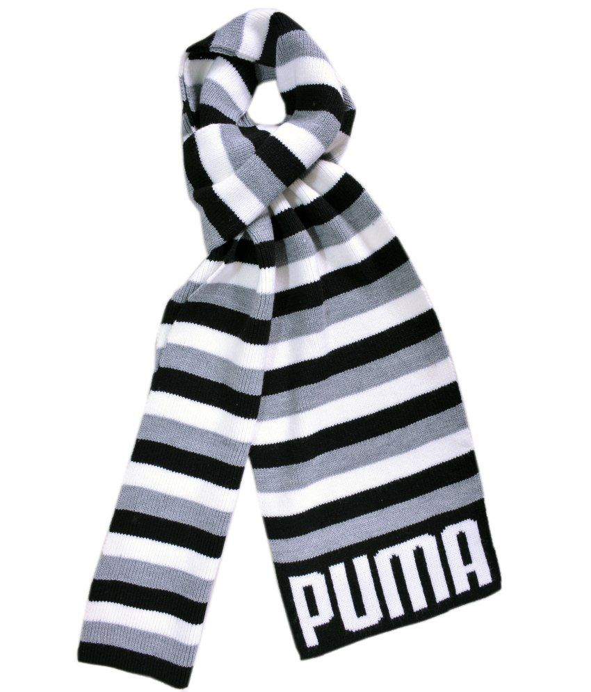Puma Multicolour Woollen Muffler For Men