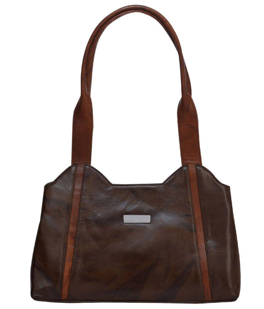 Rehan's Brown Shoulder Bag