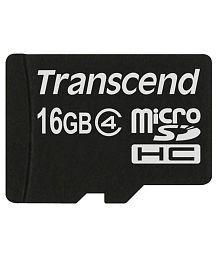 Transcend 16gb Micro Sdhc Memory Card - Class 4