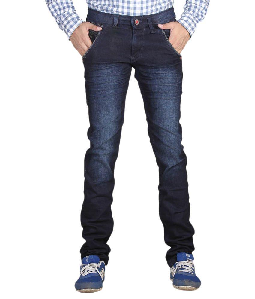 Privilege Blue Slim Fit Jeans