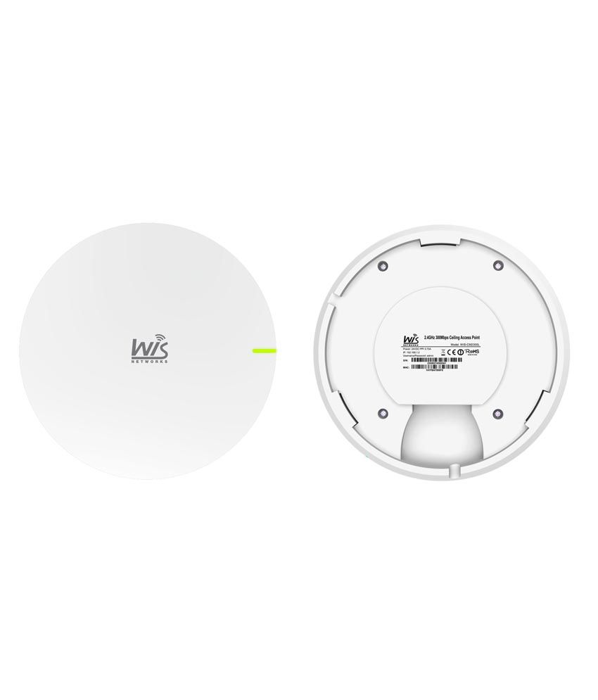 Wisnetworks CM2300L Wireless 300 Mbps 2.4GHz TDMA Ceiling Mount Access Point / CPE