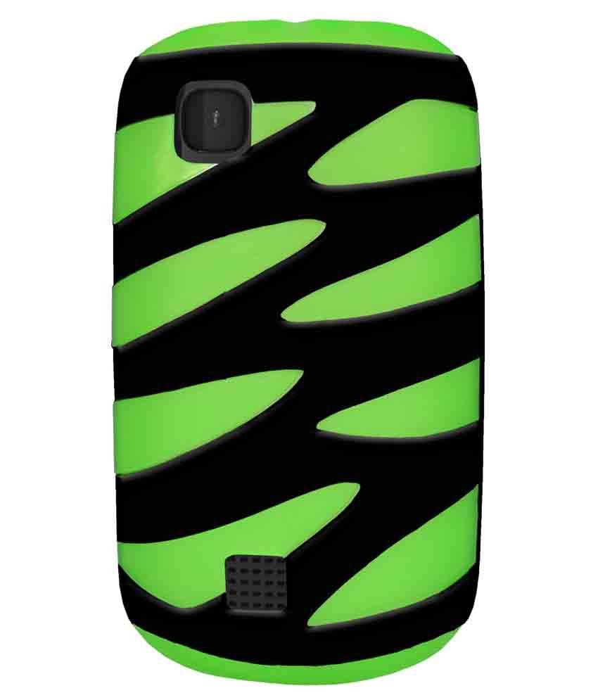 release date: 7fdf2 75d21 Amzer Back Cover for Nokia Asha 201, Nokia Asha 200 - Green