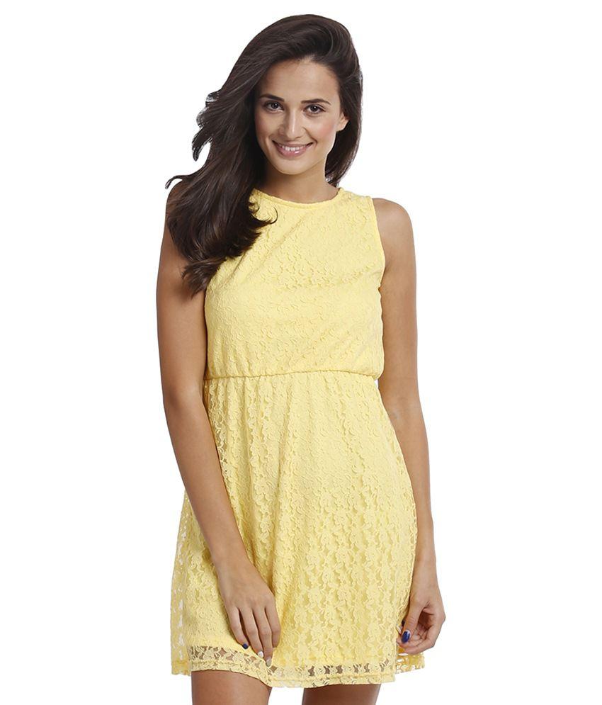 Prym GoldenRod Sleeveless Dresses