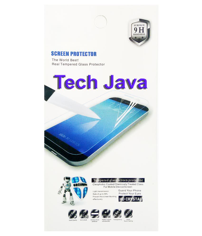 Techjava Tempered Glass Screen Guard for Samsung Galaxy Note 2