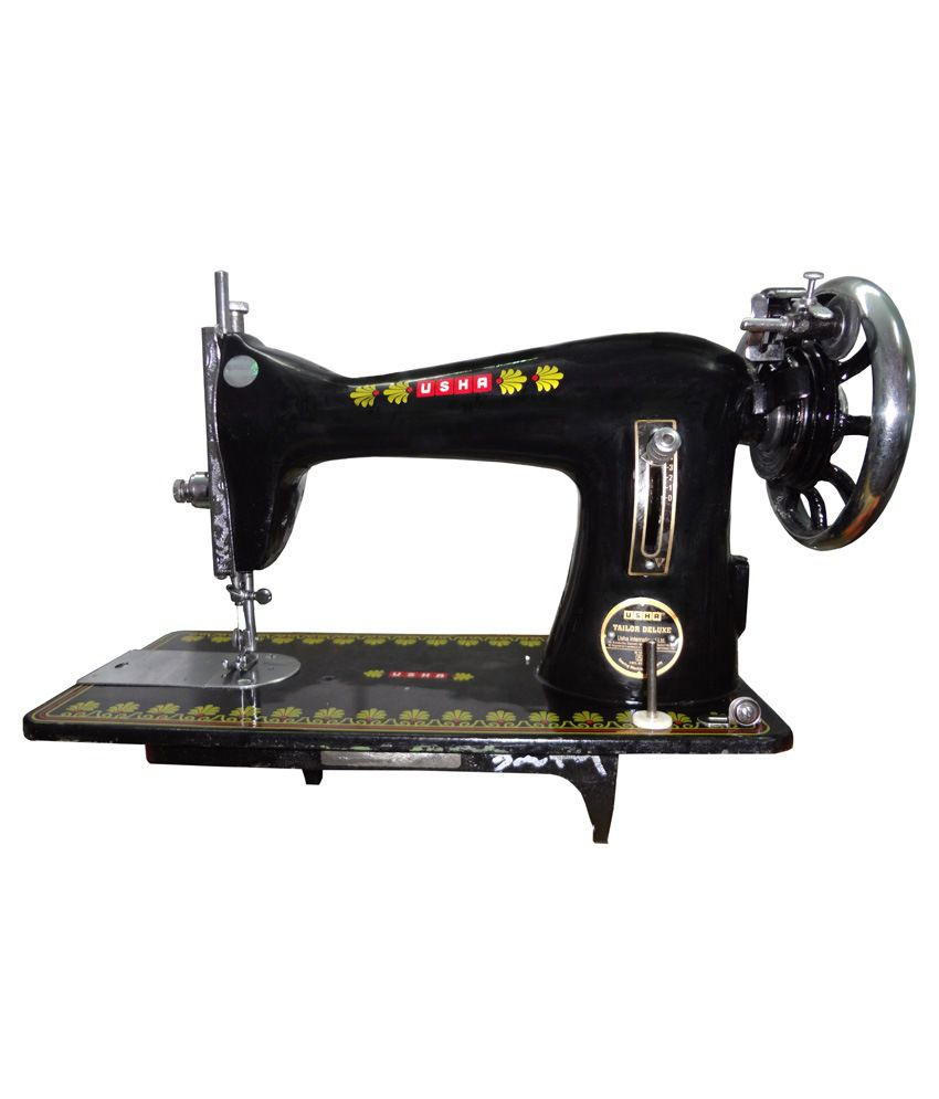 Usha Black Sewing machine Price in India - Buy Usha Black ...