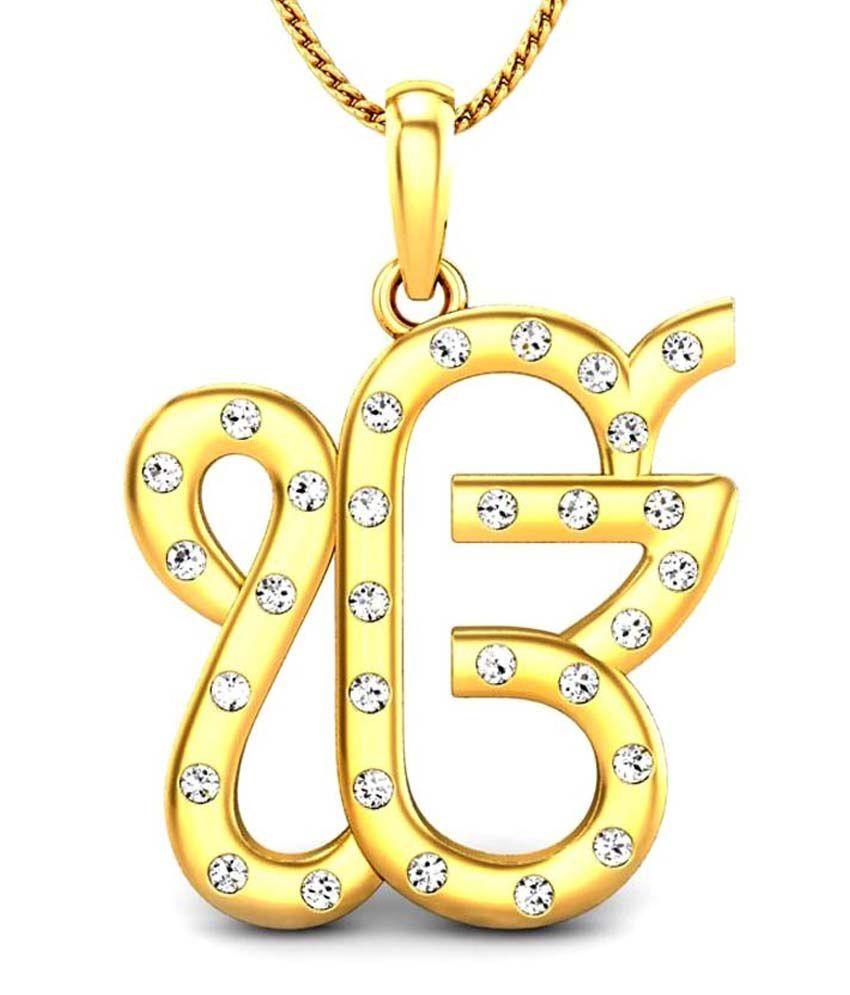 Kataria jewellers ek onkar guru nanak sikh pendant in bis kataria jewellers ek onkar guru nanak sikh pendant in bis hallmarked gold aloadofball Choice Image