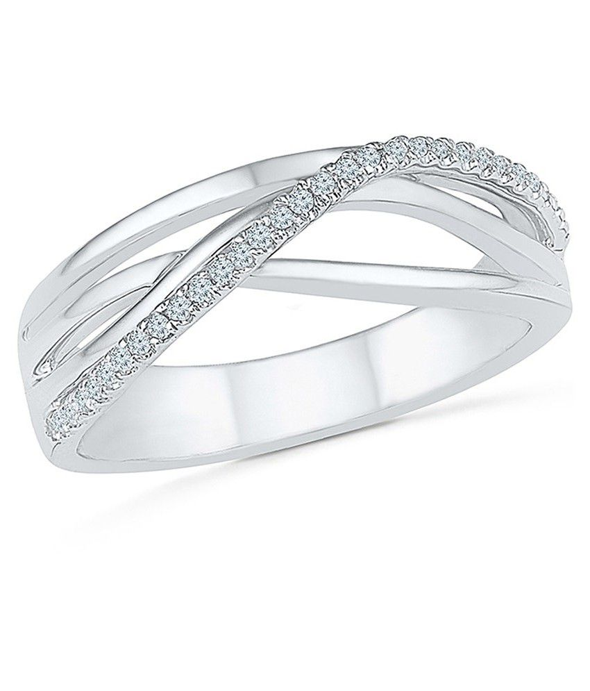 Radiant Bay 18Kt White Gold Ring