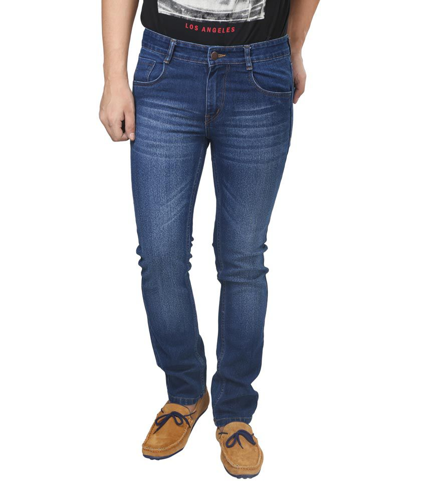 Trendy Trotters Navy Regular Fit Jeans