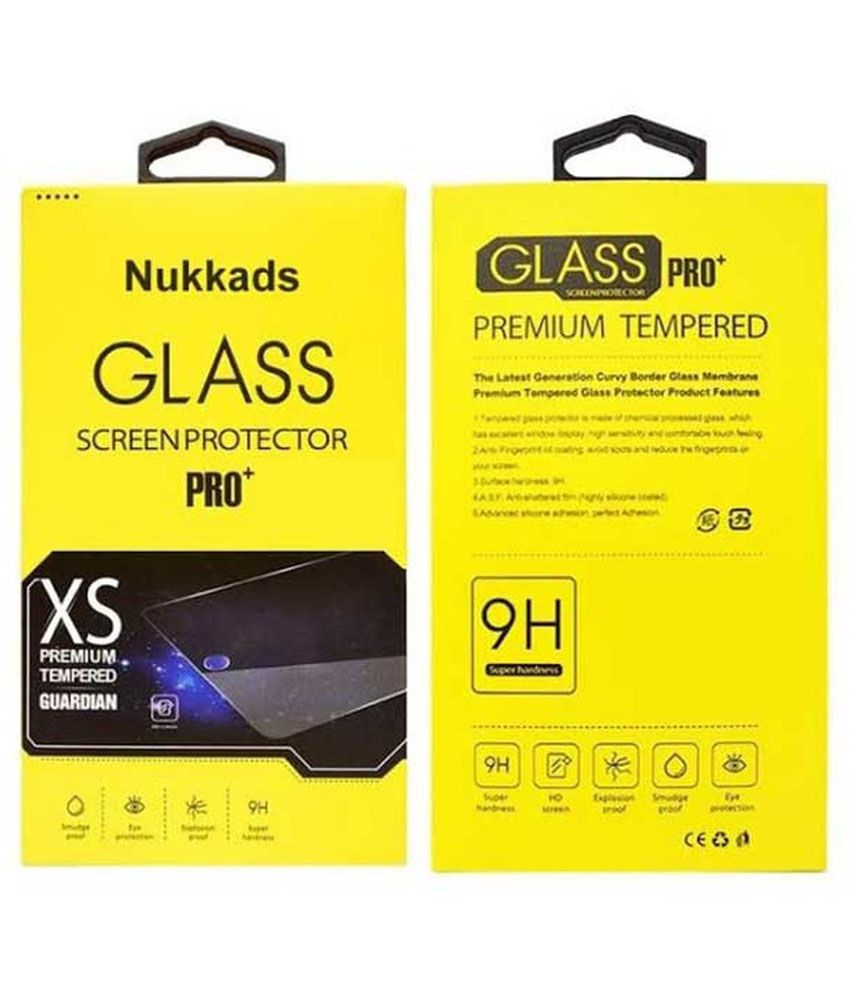 Lava Iris X5 Tempered Glass Screen Guard by Nukkads