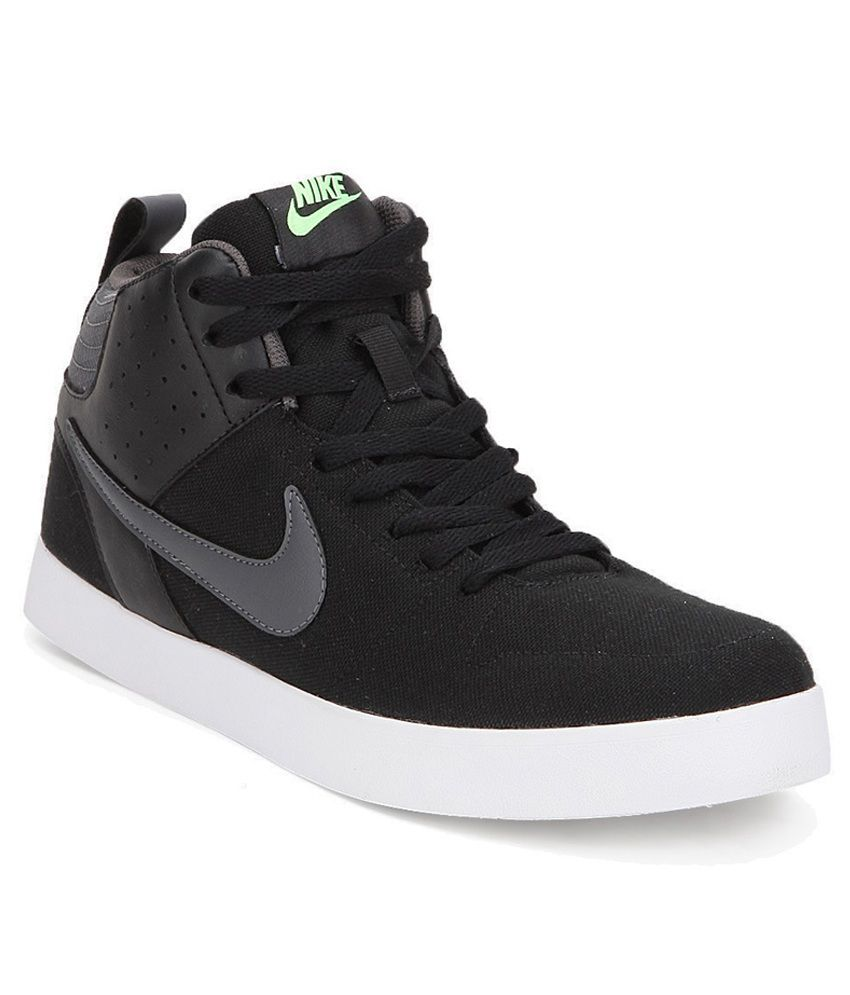 Black Nike Shoes Casual - results from brands Nike, Element, Converse, products like Nike Ashin Modern Sock Knit Sneaker (Baby, Walker, Toddler, Little Kid & Big Kid), Nike Air Max Motion (Black/White) Men's Running Shoes, Men's Nike Stefan Janoski Max Mid Skate Shoe - Black/Black/Laser Crimson/Sail Sneakers, Shoes.