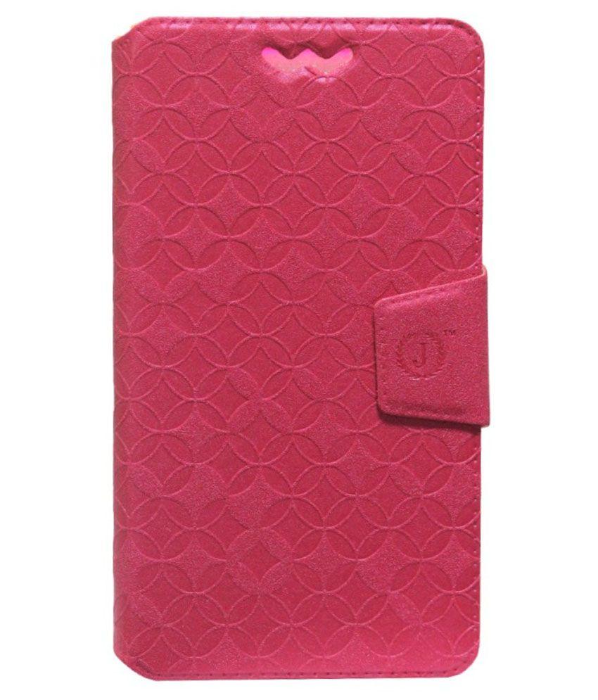 sale retailer d1ac0 e0787 Jo Jo Flip Cover For Spice Mi-506 - Pink - Flip Covers Online at Low ...