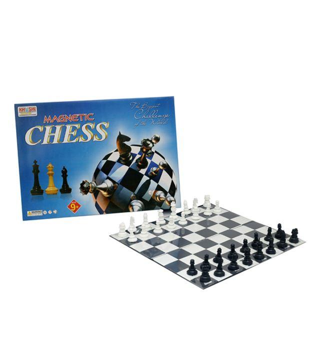 Jupiter Enterprises Multicolour Magnetic Board Chess Board