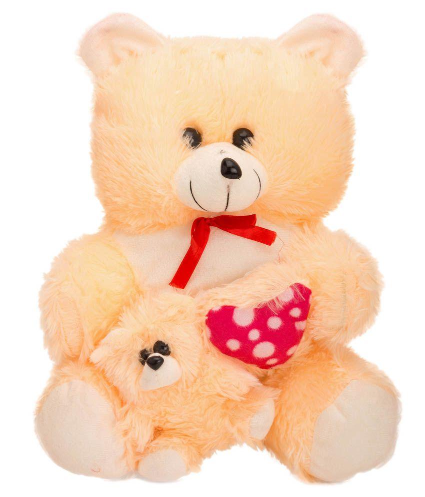 Arihant Online Cream Fiber Teddy Bear