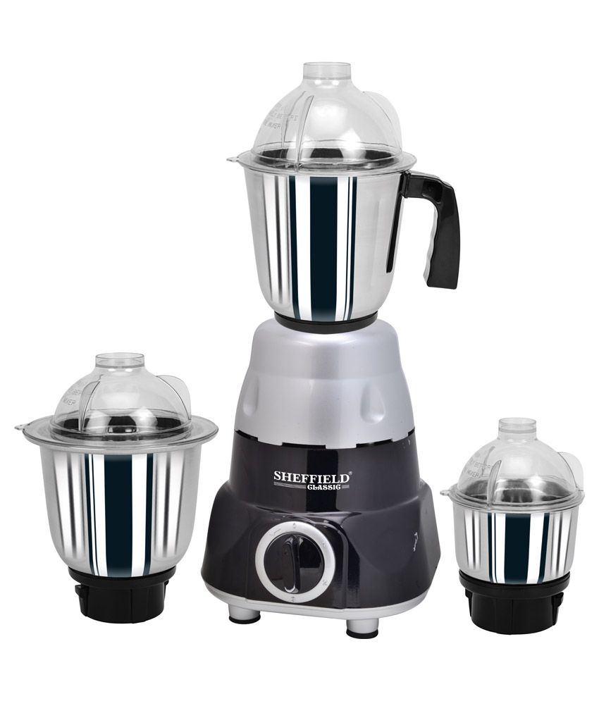Sheffield Classic Black Beauty SH-1022 550W Mixer Grinder