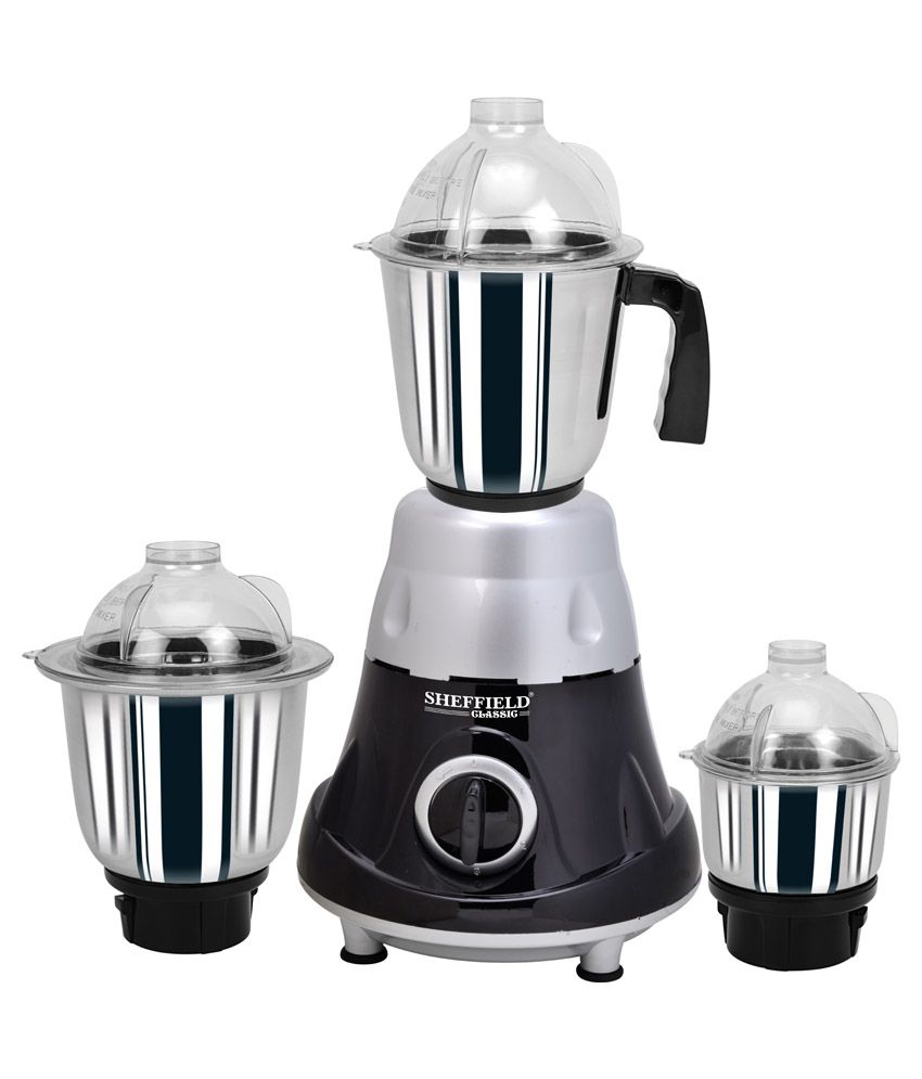 Sheffield Classic Black Glory SH-1023 650W Mixer Grinder
