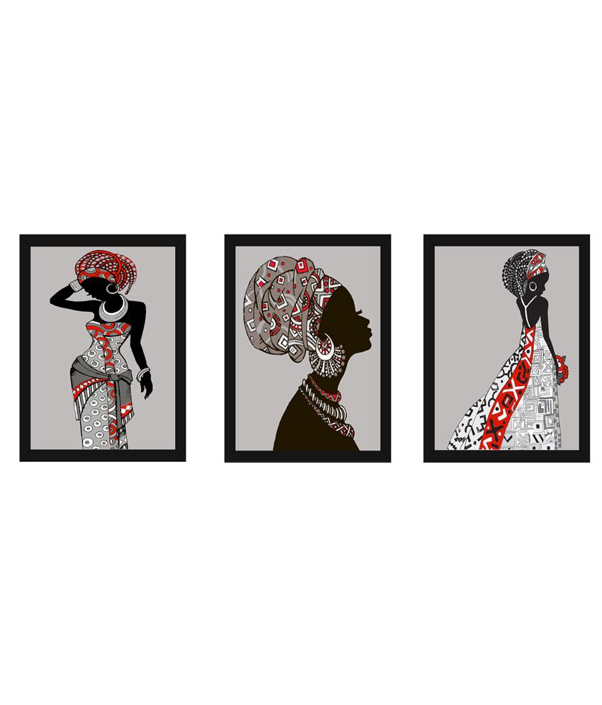 Wow Interiors And Decors Black Beauty Paintings With Frame