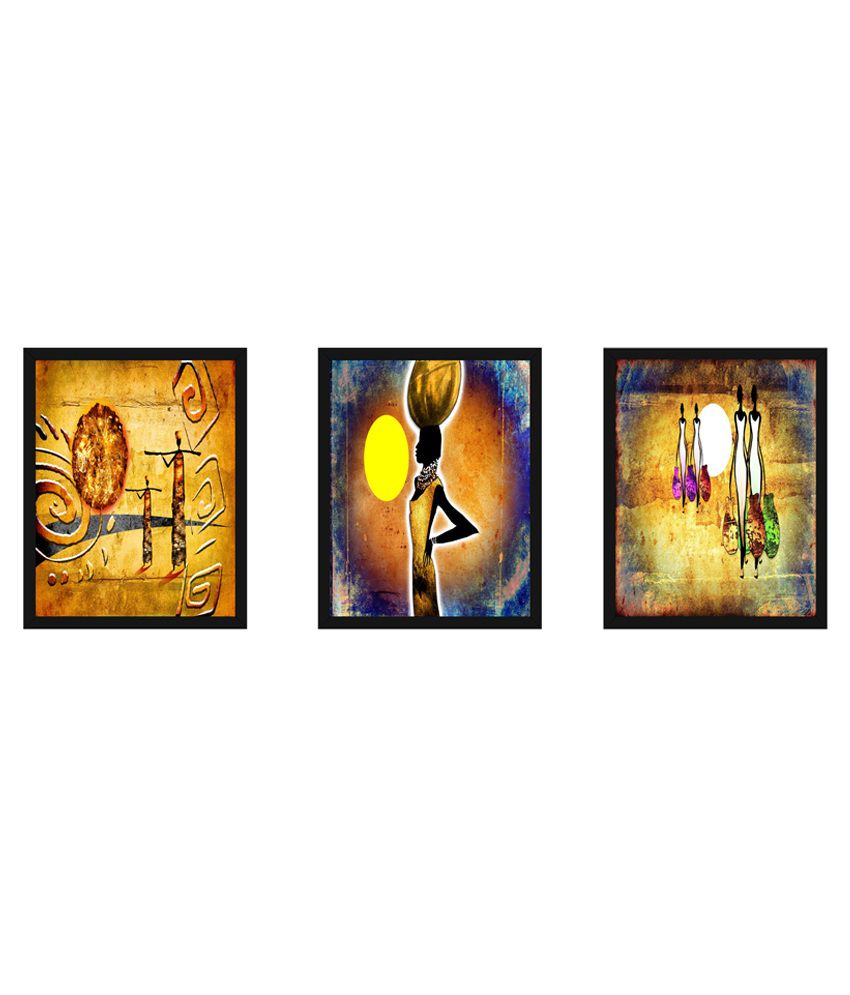 Wow Interiors And Decors Modern Art Paintings With Frame