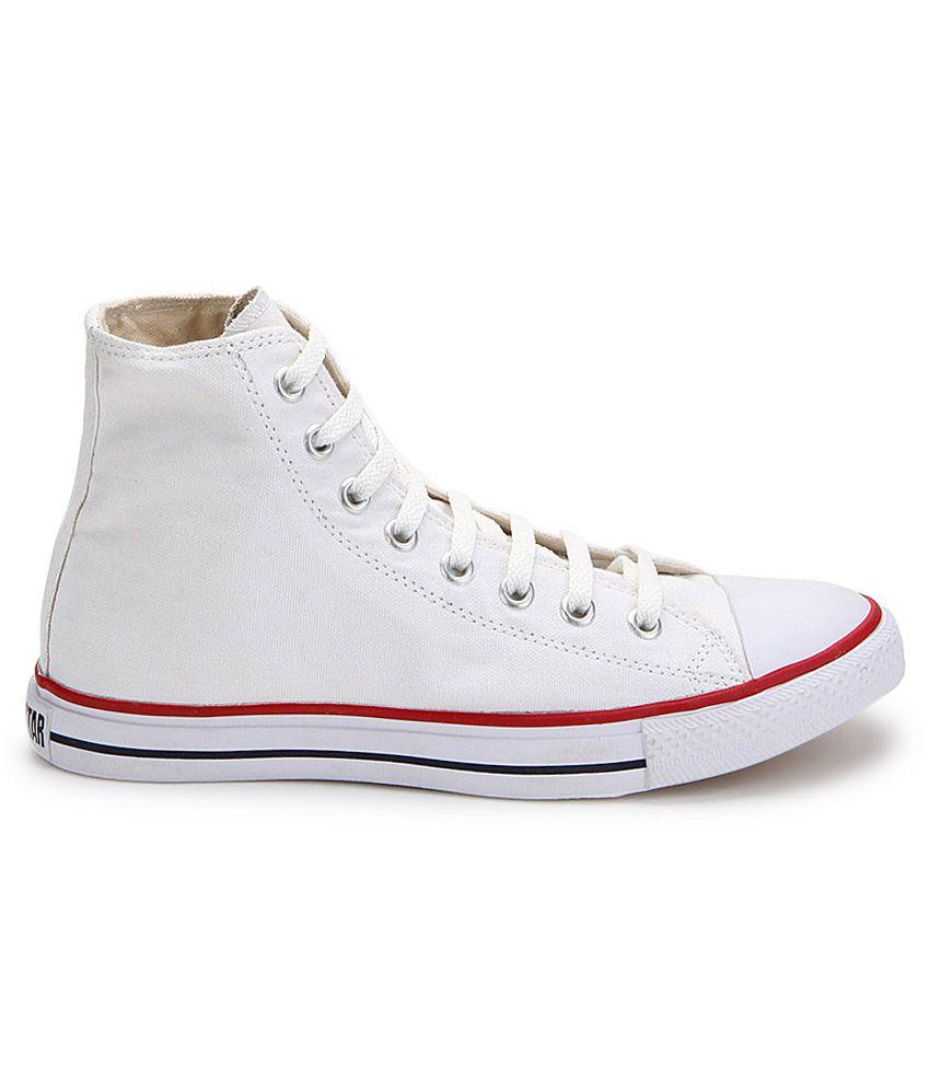 Converse White Canvas Shoes - Buy