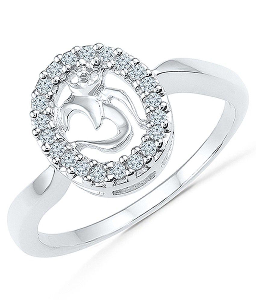 Radiant Bay 14Kt White Gold Diamond Ring