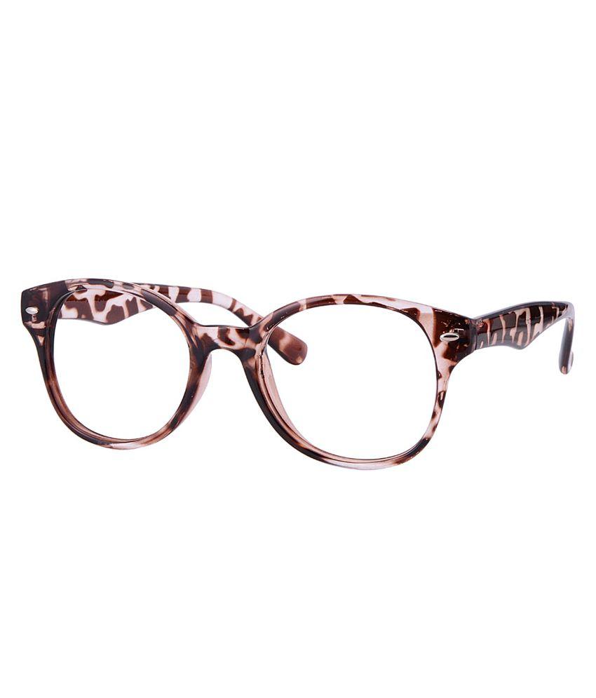 Comfortsight Brown Eyeglass Frame
