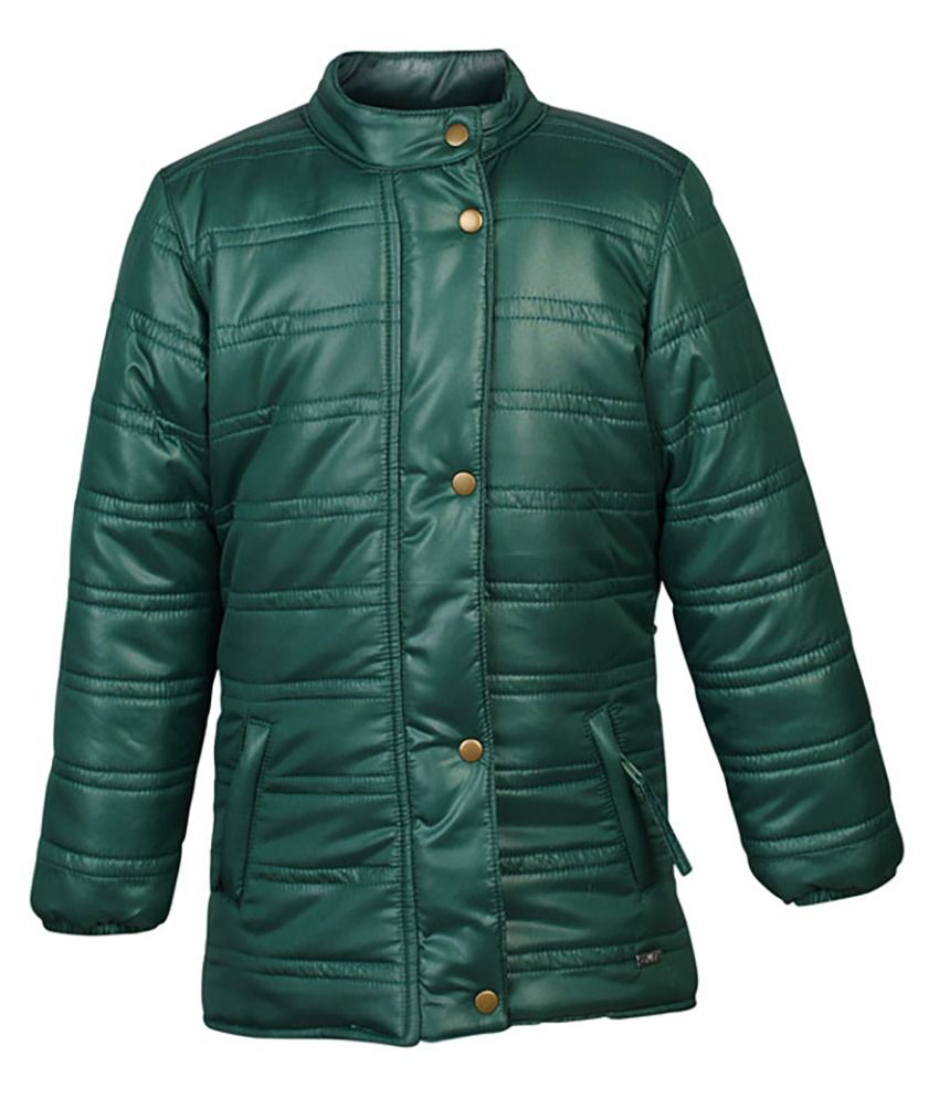ELLO Green Full Sleeves Without Hood Jacket