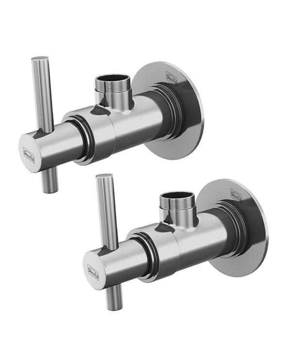 Sheetal Nile Angular Stop Cock Faucet - Set of 2