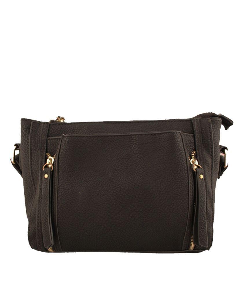Damit Black Sling Bag