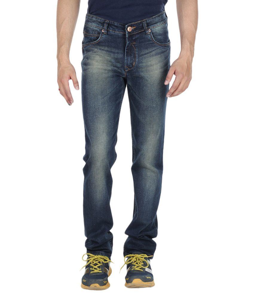 Red Rope Jeans Black Slim Fit Jeans