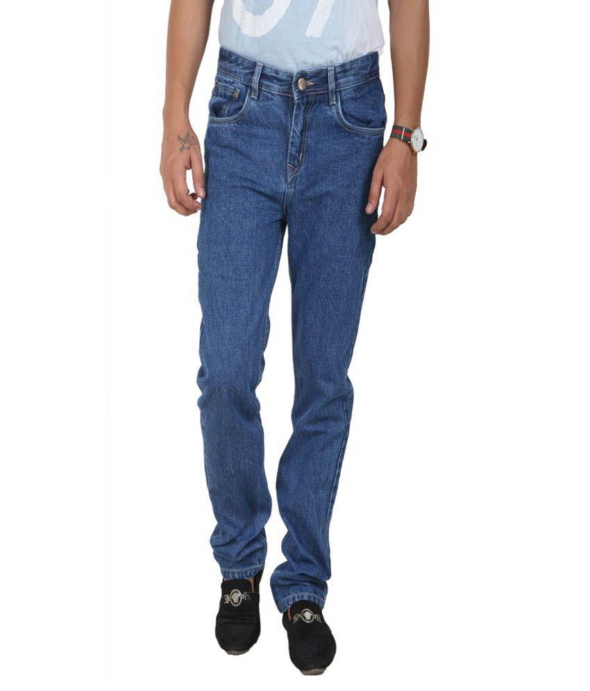 Crocks Club Blue Regular Fit Jeans