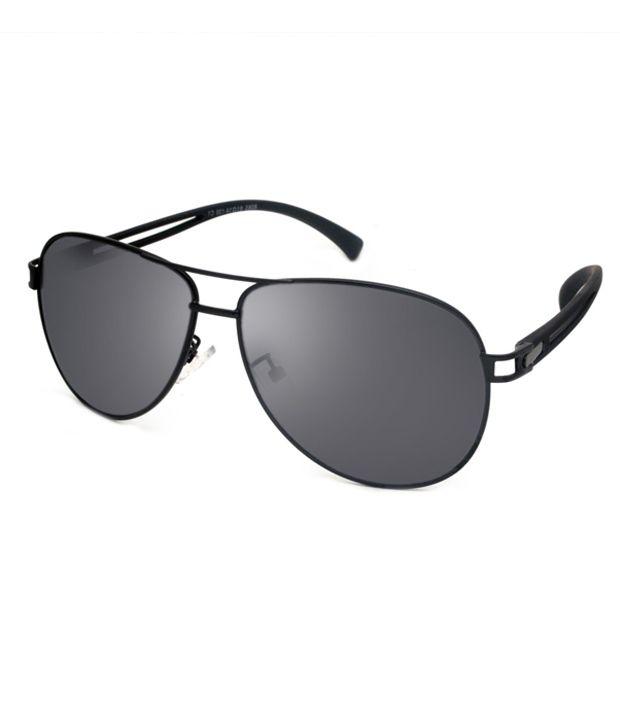 c53164088413 Macv Eyewear Black Aviator Sunglasses - Buy Macv Eyewear Black Aviator Sunglasses  Online at Low Price - Snapdeal
