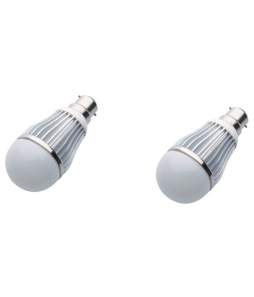 Gk-10w-White-Led-Bulb-Set-Of-2