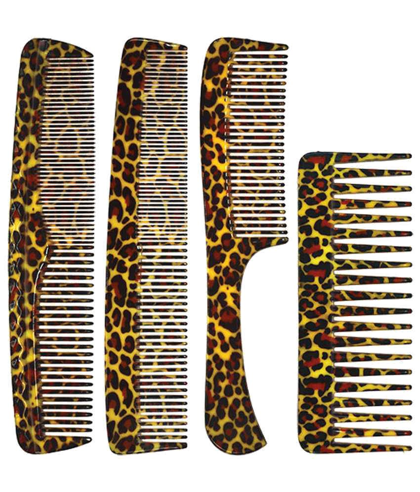 Dianallure Ladies Styling Combs Set (Pack of 4)