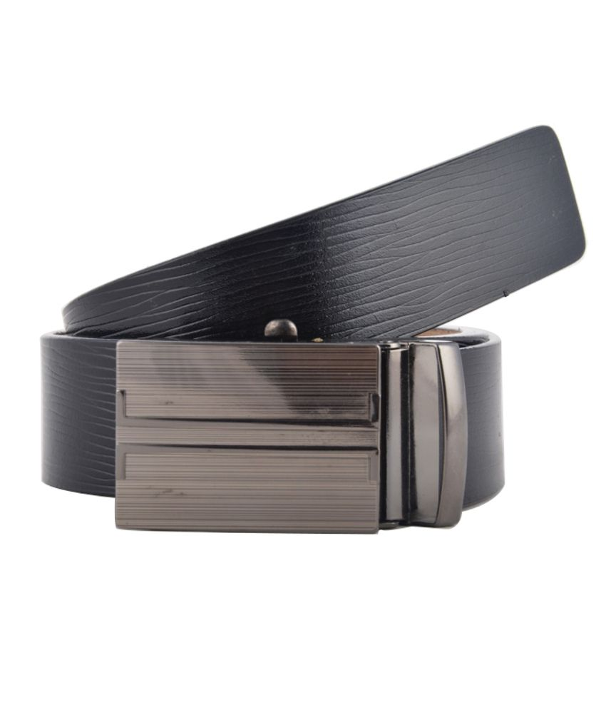 Genuine Leather Belt Black Leather Formal Belt