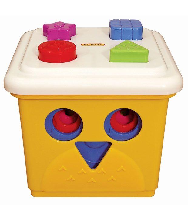 Hamleys K's Kids Owl The Stacking Bucket Family