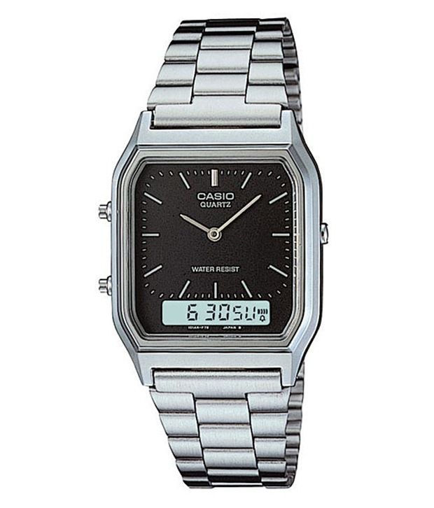 Casio Dual Time Display Watch