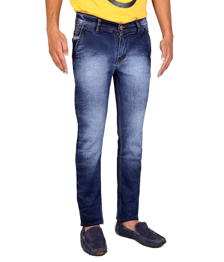 Intake Blue Slim Fit Jeans