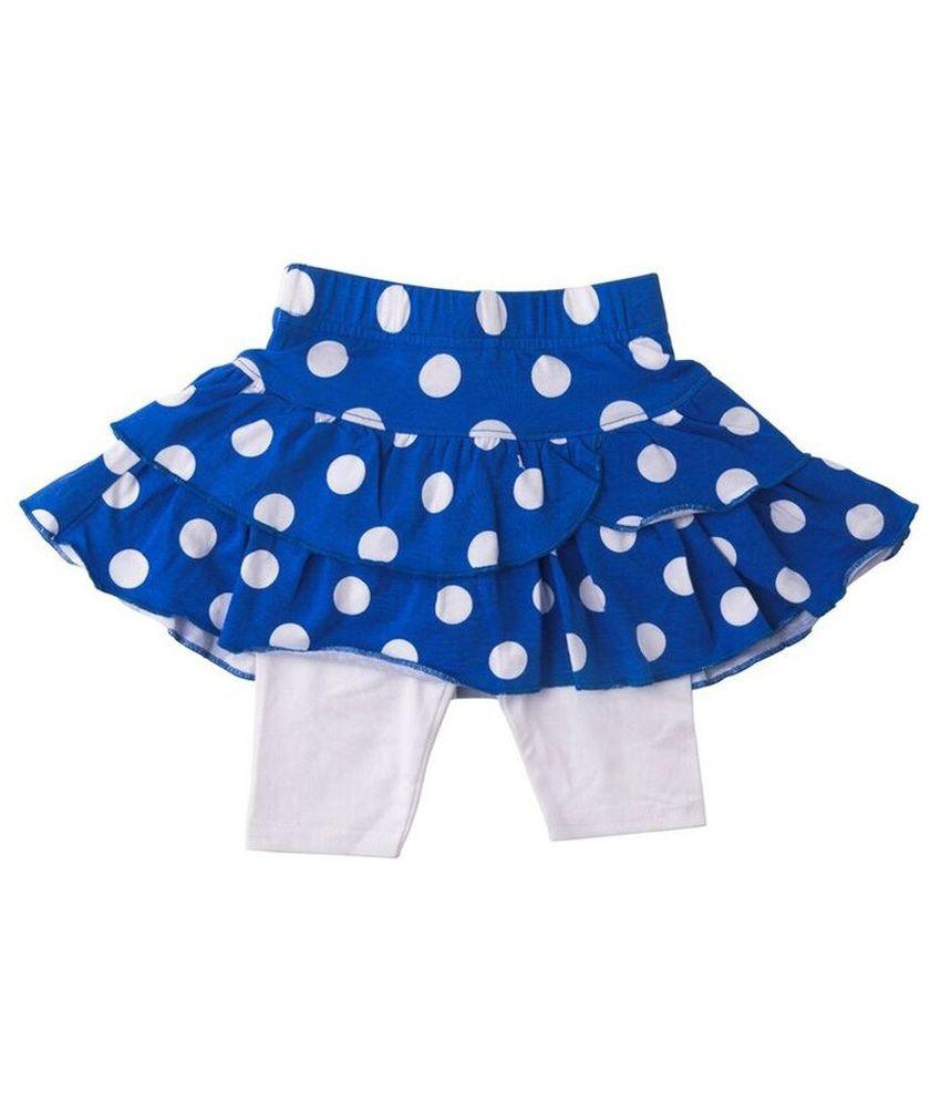 Lulu Solid Baby Girl's Regular Skirt