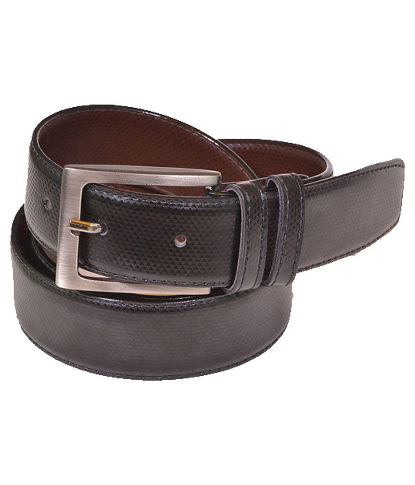 Daller Black Pin Buckle Belt for Men