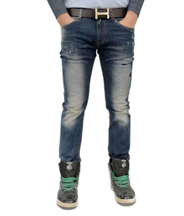 Evanz Originals Blue Slim Fit Jeans
