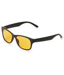 Fastrack PC001OR18 Yellow Wayfarer Sunglasses